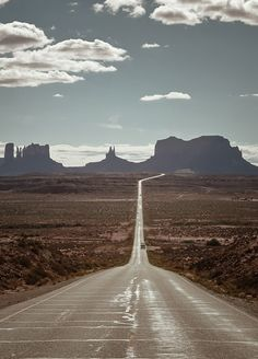 wide open spaces. Monument valley