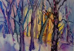 Carolyn Opderbeck, Alcohol Inks