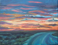 taos+new+mexico+sunsets   After a recent trip to Taos, New Mexico, I was inspired to paint some ...