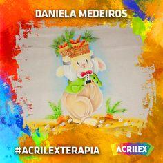 #Acrilexterapia por Daniela Medeiros