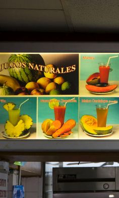 Before deciding on what I wanted to eat, I went up to the central juice stand and went for mamey, the custardy, starchy fruit that produces a red-orange nectar that tastes like a cross between sweet potato and papaya.