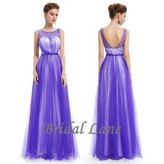 Blue evening dresses for matric ball / matric farewell in Cape Town - Bridal Lane ♥