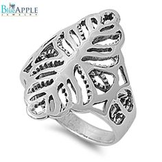 Laser Cut Stunning Plain Ring Solid 925 Sterling Silver Promise Anniversary Ring Valentines Mothers Day Cute Gift Size 4-15
