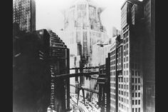 Fritz Lang's Metropolis (1927) presents a dystopian vision of the future. Image: BFI.