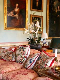 Althorp's south drawing room