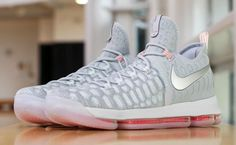 super popular 33930 4d11f Nike KD 9 Cool Grey Pink (2) Basketball Outfits, Tenis Basketball,