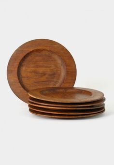 For my Joe, Wooden plates