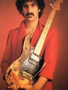 Zappa w/ Jimi Hendrix Strat