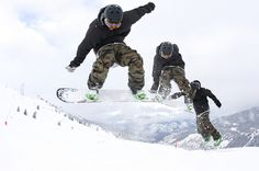 Snowboard instructor course in Three Valleys with SnowSkool 2013 Adam  via Flickr. Photo by Emma Bell
