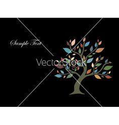 Tree vector 336892 - by Chantall on VectorStock®