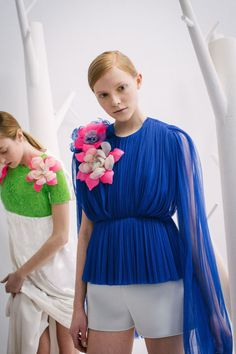 Behind-the-Scenes at Delpozo Fall 2015 - Delpozo New York Fashion Week Fall 2015