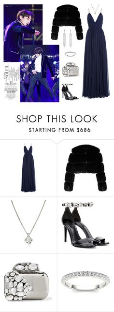 """Night with Jungkook - BTS"" by nailya-s ❤ liked on Polyvore featuring Gwyneth Shoes, Jenny Packham, Givenchy, Forzieri, Alexander Wang, Jimmy Choo, Modern Bride, kpop, bts and jungkook"