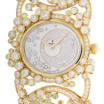 Audemars Piguet Contemporary Millenary Précieuse  Diamond and Pink Sapphire Rose Gold Ladies Watch .