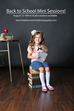 Heather Marshall Photography: Back to School Sessions mit Heather Marshall Phot . - Heather Marshall Photography: Back to School Sessions mit Heather Marshall Photography - Kindergarten Pictures, Preschool Pictures, Preschool Photography, Children Photography, Photography School, Back To School Pictures, School Photos, Photography Mini Sessions, Fitness Photography
