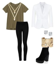 """""""Untitled #218"""" by dreamgurl-846 on Polyvore featuring Lee, MaxMara, BaubleBar, Lanvin and Wolford"""