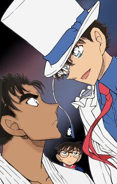 Makoto vs Kaito Kid