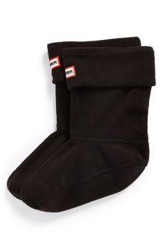 Hunter Short Fleece Welly Socks