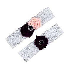 Dreamlan Womens Lace Garters Multi Colors with Crystal Black Peach Dreamlan http://www.amazon.com/dp/B01AHZAZMA/ref=cm_sw_r_pi_dp_brM1wb1FMZD3X