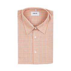 273ee98674 Connor Shirt - Salmon Multi Plaid – Hyden Yoo