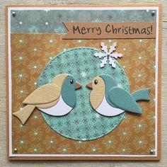 LindaCrea: Kerst 2016 - Sweet Birds
