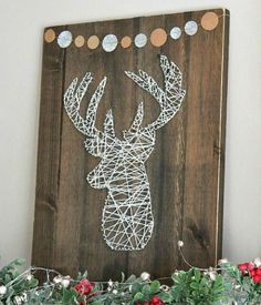 Rustic Christmas Decorations look very cool and cozy. Check these awesome DIY Rustic Christmas Decorations ideas and give a traditional look to your home. Rustic Christmas Crafts, Rustic Crafts, Farmhouse Christmas Decor, Noel Christmas, Christmas Signs, Christmas Projects, Holiday Crafts, Christmas Decorations, Outdoor Christmas