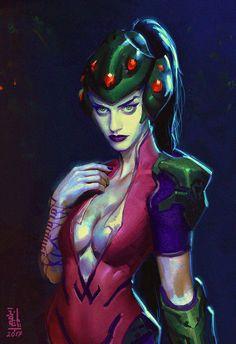 Widomaker - fan art 02 by saint-max.deviantart.com on @DeviantArt - More at https://pinterest.com/supergirlsart/ #overwatch #fanart