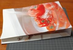 tutorial on making your own paper bags from pages of magazines - such a cool idea!