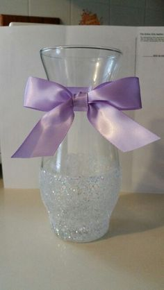 Shower centerpiece vase