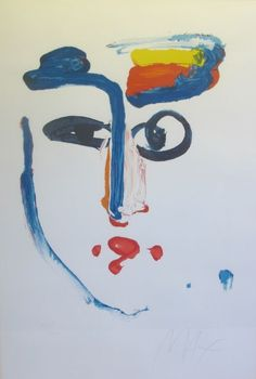 "RARE Early Original Peter Max ""Visage"" Lithograph w COA C 1977 | eBay"