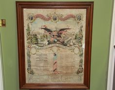 United States Mustered into service 1862 by ifoundthat on Etsy, $225.00