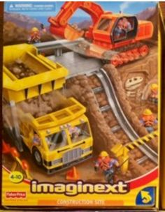 Construction Site Toy Set Retired by Fisher Price Imaginext | evezbeadz.artfire.com ($100 cash pick up at my home)