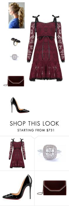 """""""Untitled #1509"""" by krissyfolk ❤ liked on Polyvore featuring Alexis, Tiffany & Co., Christian Louboutin, STELLA McCARTNEY and Jennifer Miller"""
