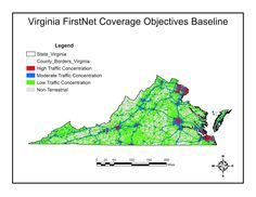 Virginia Baseline Coverage Map