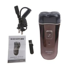 New Deluxe Rotary 2D Rechargeable Men Man's Cordless Electric Shaver Razor
