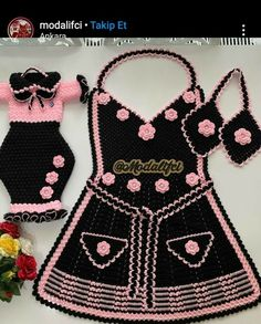 Crochet Home, Baby Knitting Patterns, Hello Kitty, Accessories, Women, Fashion, Crochet Barbie Clothes, Crochet Stitches, Dots