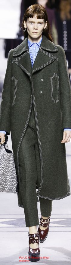 Fall 2016 Ready-to-Wear Mulberry