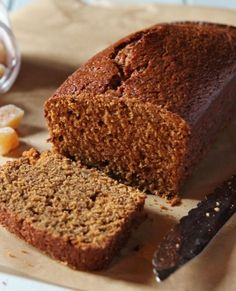 Low FODMAP Recipe and Gluten & lactose free Recipe - Gingerbread loaf cake http://www.ibssano.com/low_fodmap_recipe_gingerbread_loaf_cake.html