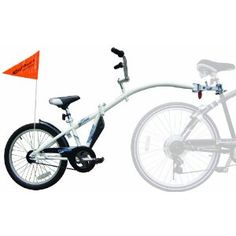 WeeRide Co-Pilot Bike Trailer, need this for family bike rides, cuz nobody wants to ride in the bike stroller anymore...