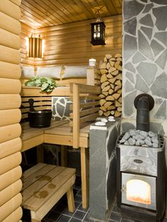 The Sacred Sauna (Our Home) |