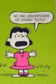 Lol! Lucy Van Pelt!