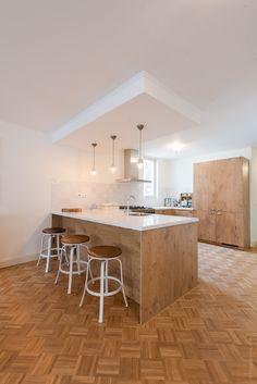 houten vloer, mozaiek vloer, eiken, luxury home, interieur, interiordesign, interieur