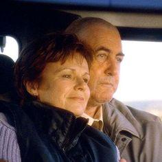 Calendar Girls (2003).  (Left) Annie (Walters, left) and husband, John (John Alderton, right)