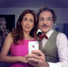 Antonio Albella y Ana Escribano a punto de salir a escena