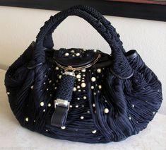 Fendi Runway Embroidered Pearl Spy Bag Spy Bag, Best Bags, Balenciaga City Bag, Fendi, Satchel, Chiffon, Shoulder Bag, Couture, Pearls