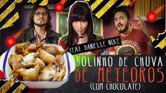 Bolinho de chuva de meteoros (com chocolate) | Miolos Fritos Culinária Nerd