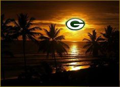 The sun rises , The sun sets , All Packers