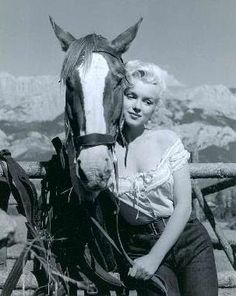 Marilyn and co star... River of No Return