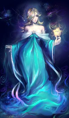 ☆ Rosalina ☆ Another stream painting Super Mario Princess, Nintendo Princess, Mario Fan Art, Super Mario Art, Mario And Luigi, Mario Bros, Harmonie Mario, All Mario Games, Mario Cosplay