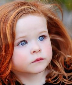 blue eyes and adorable red hair.I hope my kids have pretty red hair Precious Children, Beautiful Children, Beautiful Babies, Most Beautiful Child, Beautiful Eyes, Beautiful People, Beautiful Redhead, Pretty Eyes, Natural Redhead