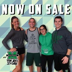 Check out our exciting new fitness apparel, now on sale at the Rec Store!
